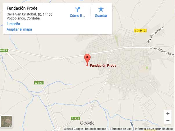Mapa de PRODE