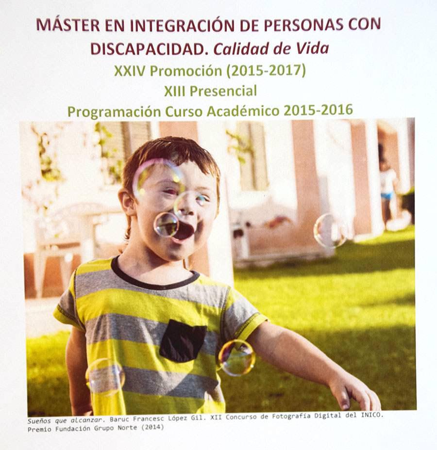 Mejor master de España en el área de Familia e Integración según el Ranking del periódico El Mundo